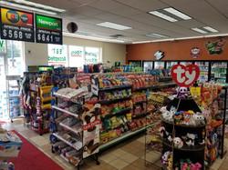 Inside BP Gas Station