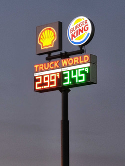 Truck World sign