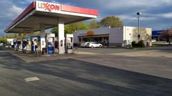 Bitcoin inside Exxon Gas Station