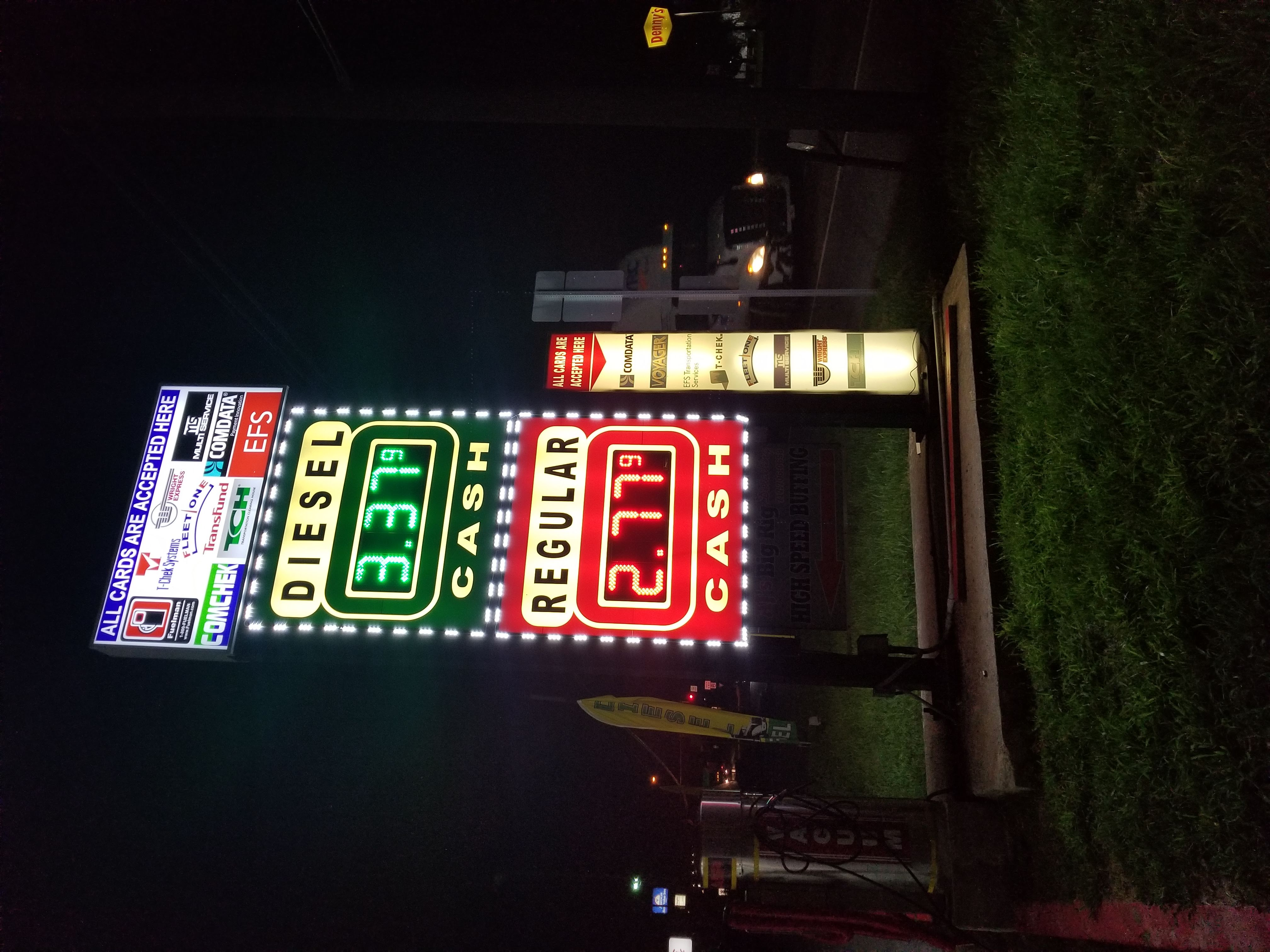 Pioneer Gas Sign