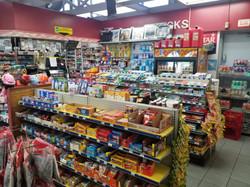 Inside Sunoco Gas Station