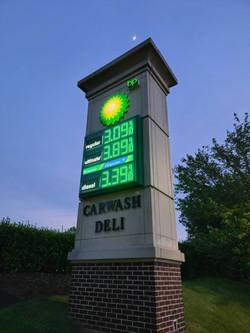 BP Gas sign
