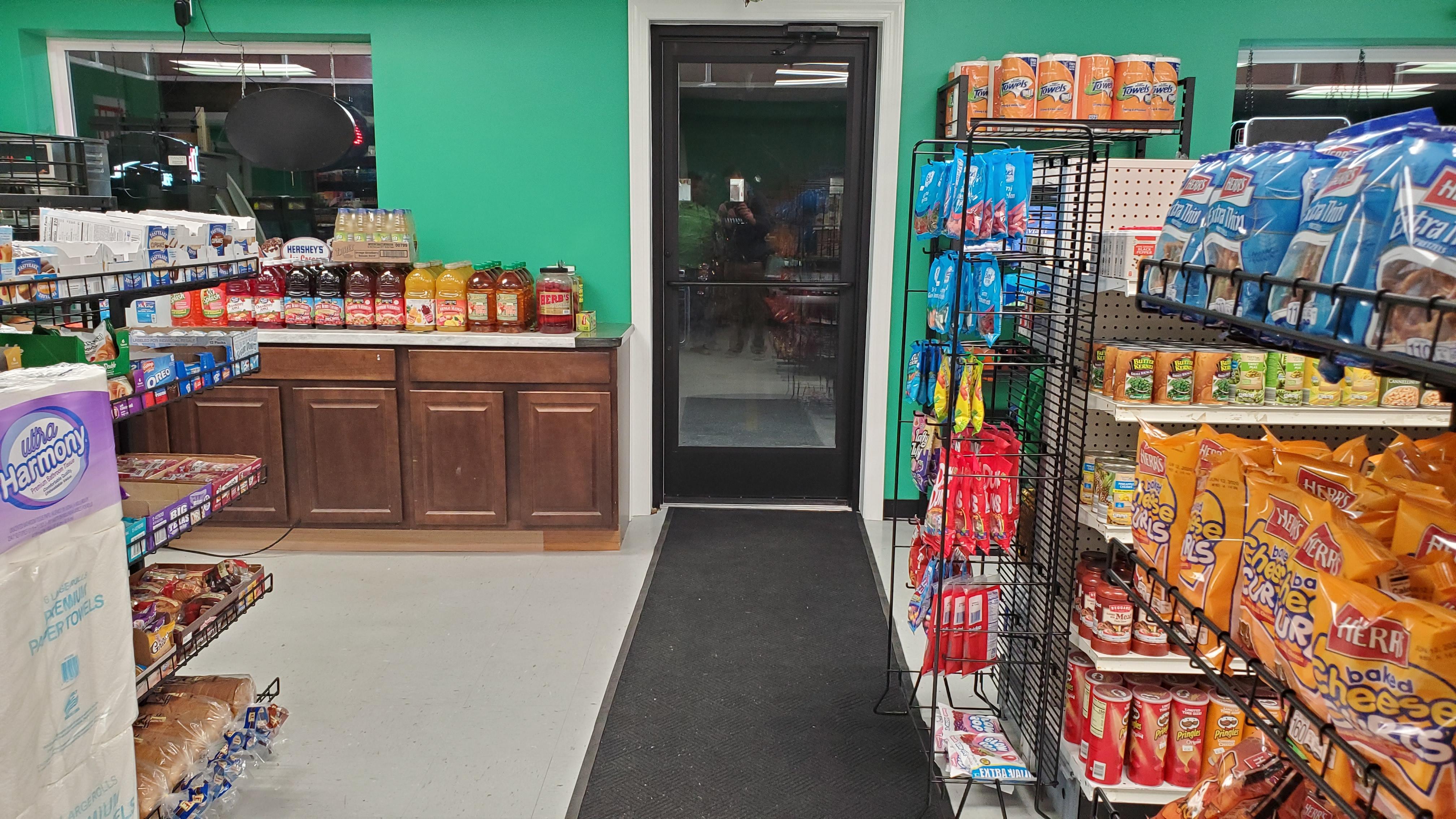 Inside Raja Quick Pick Mart