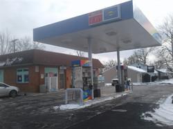 Bitcoin ATM inside Sunoco Gas