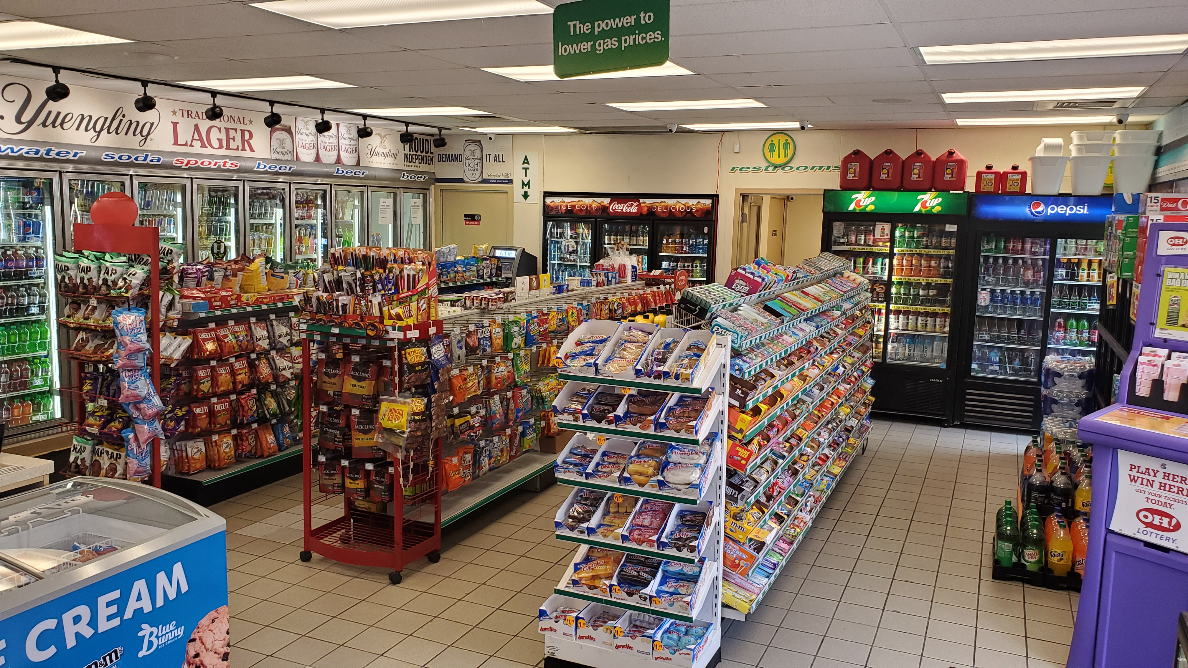 Inside BP Gas Station
