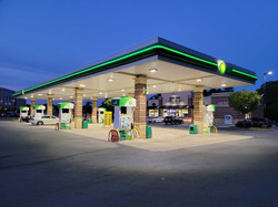 Bitcoin ATM inside BP Gas