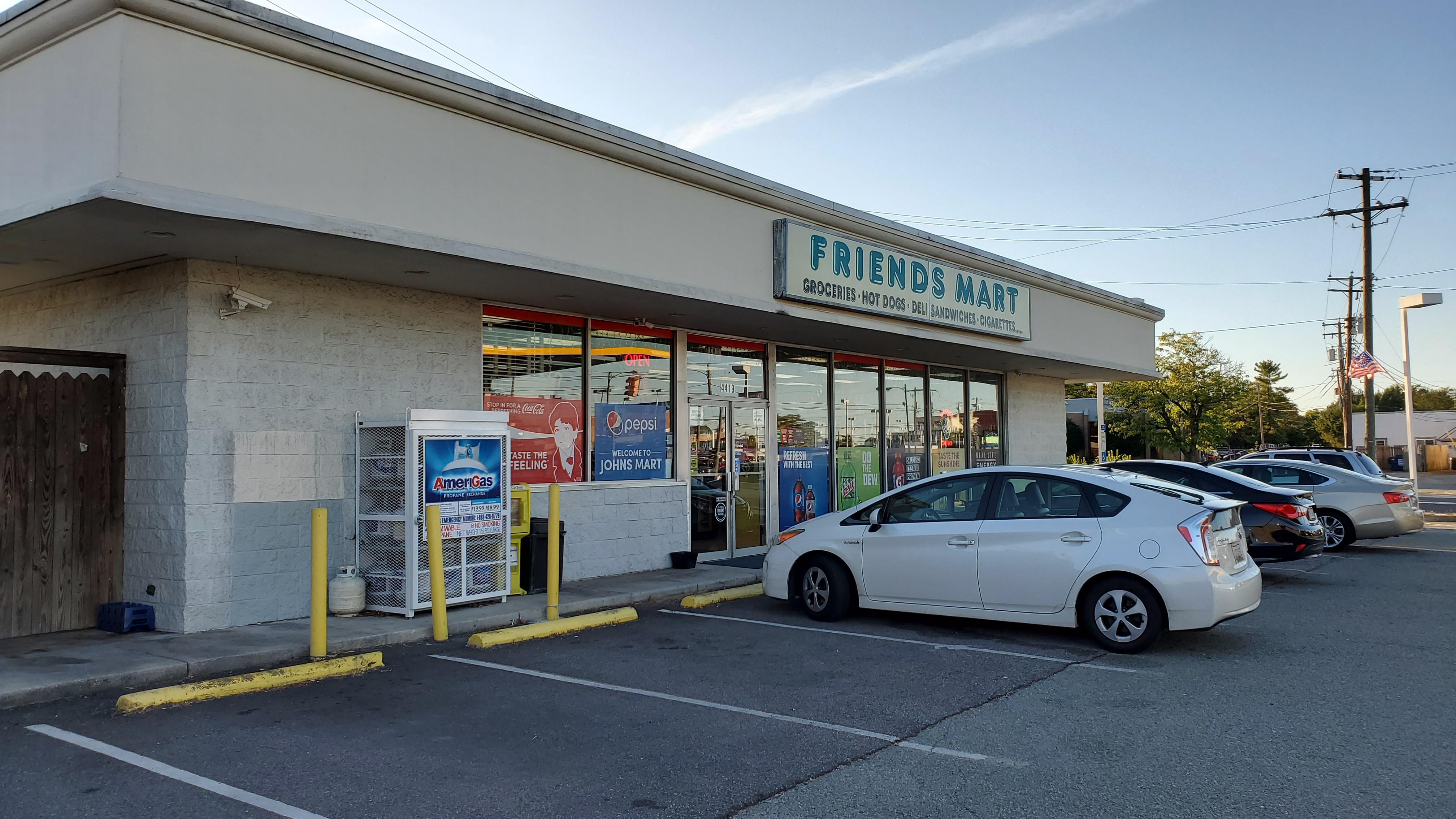 Bitcoin ATM Inside Friends Mart