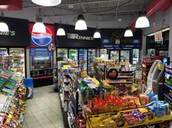 Inside Citgo Gas Station
