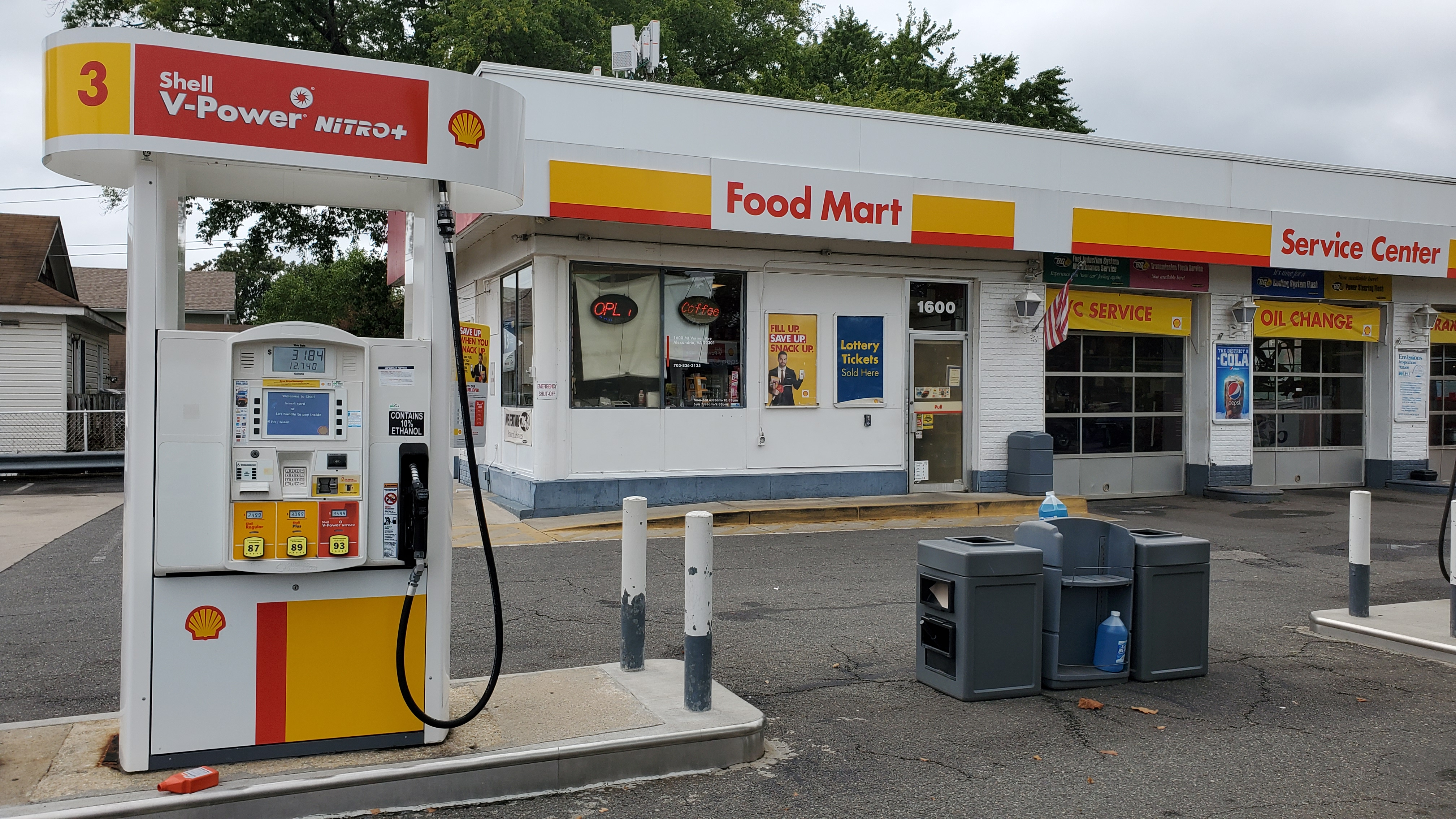 Bitcoin ATM inside Shell Gas