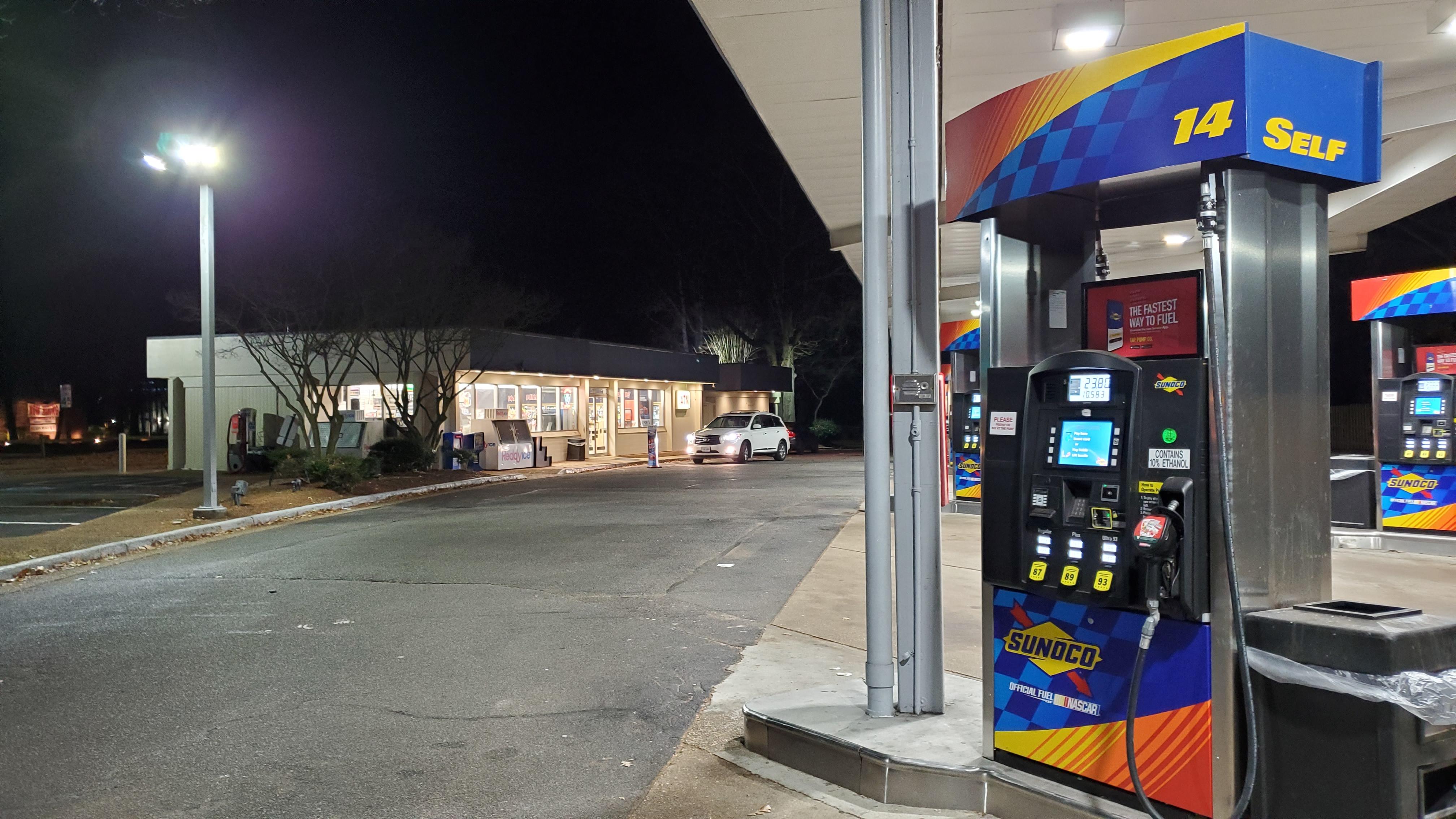 Bitcoin ATM inside Sunoco