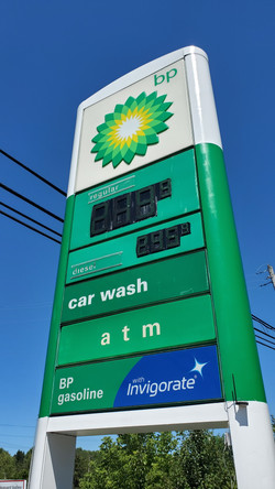 BP Gas Sign