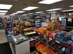 Inside Shell Gas Station