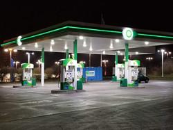 Bitcoin ATM inside BP Gas Station