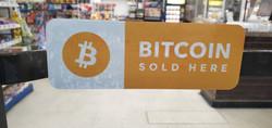 Bitcoin Sold Here sticker