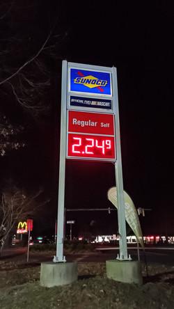 Sunoco Gas Sign