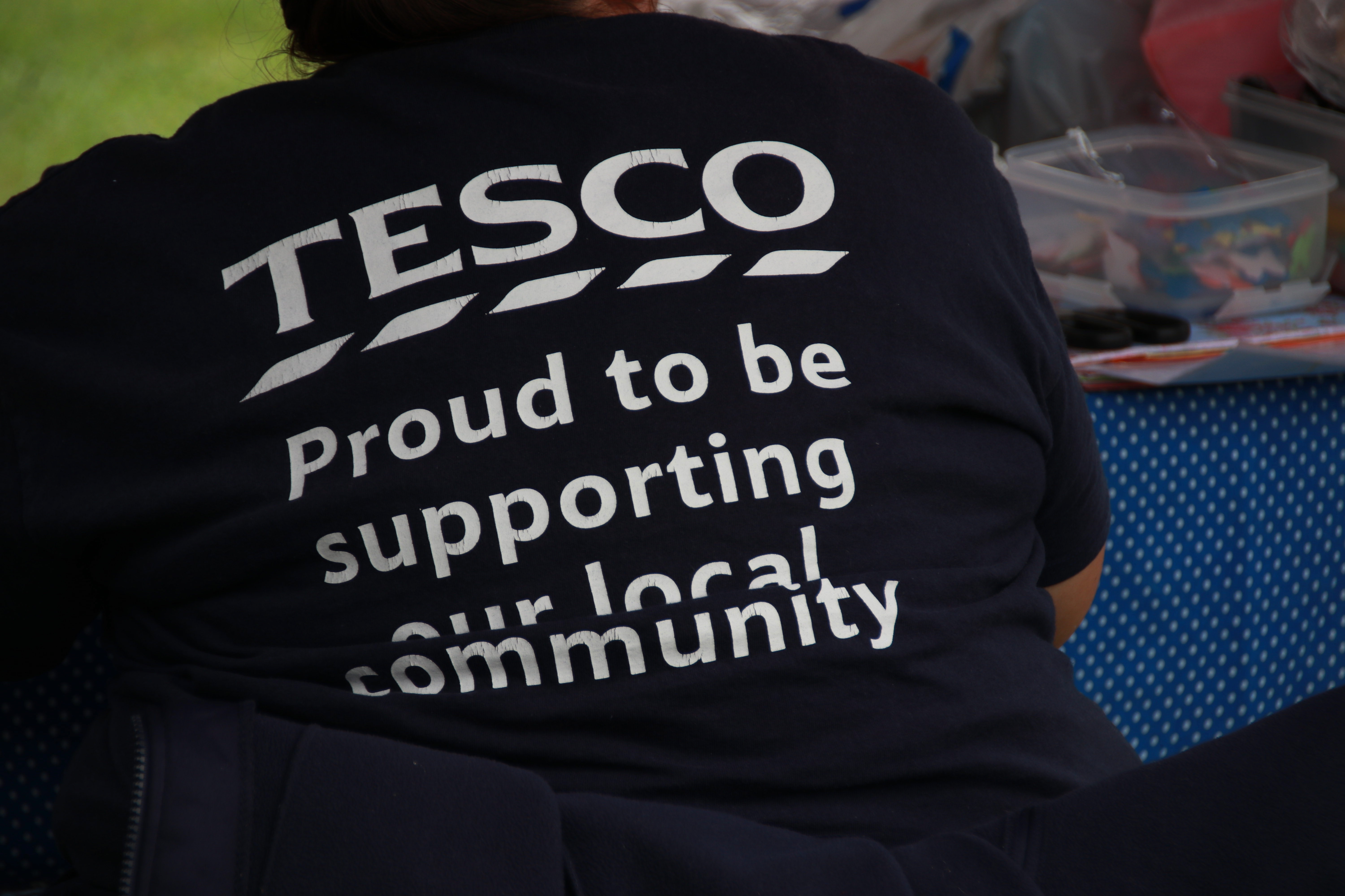 Tesco Community Champion