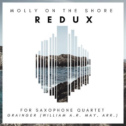 """Molly On The Shore: REDUX!"" for Saxophone Quartet"