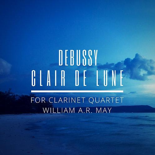Clair De Lune: for Clarinet Quartet