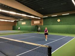 Drop-in tennis Eddie tennis