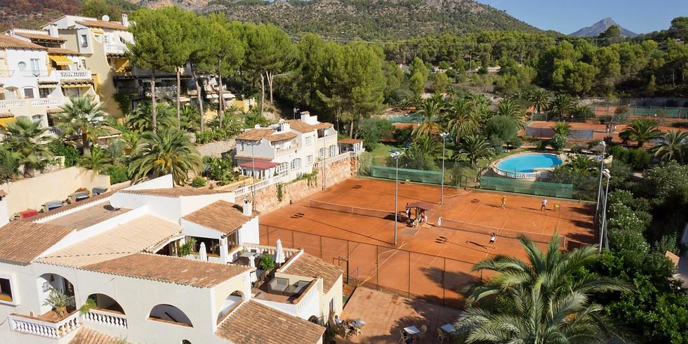 6-12 föranmälan Tennis Academy Mallorca