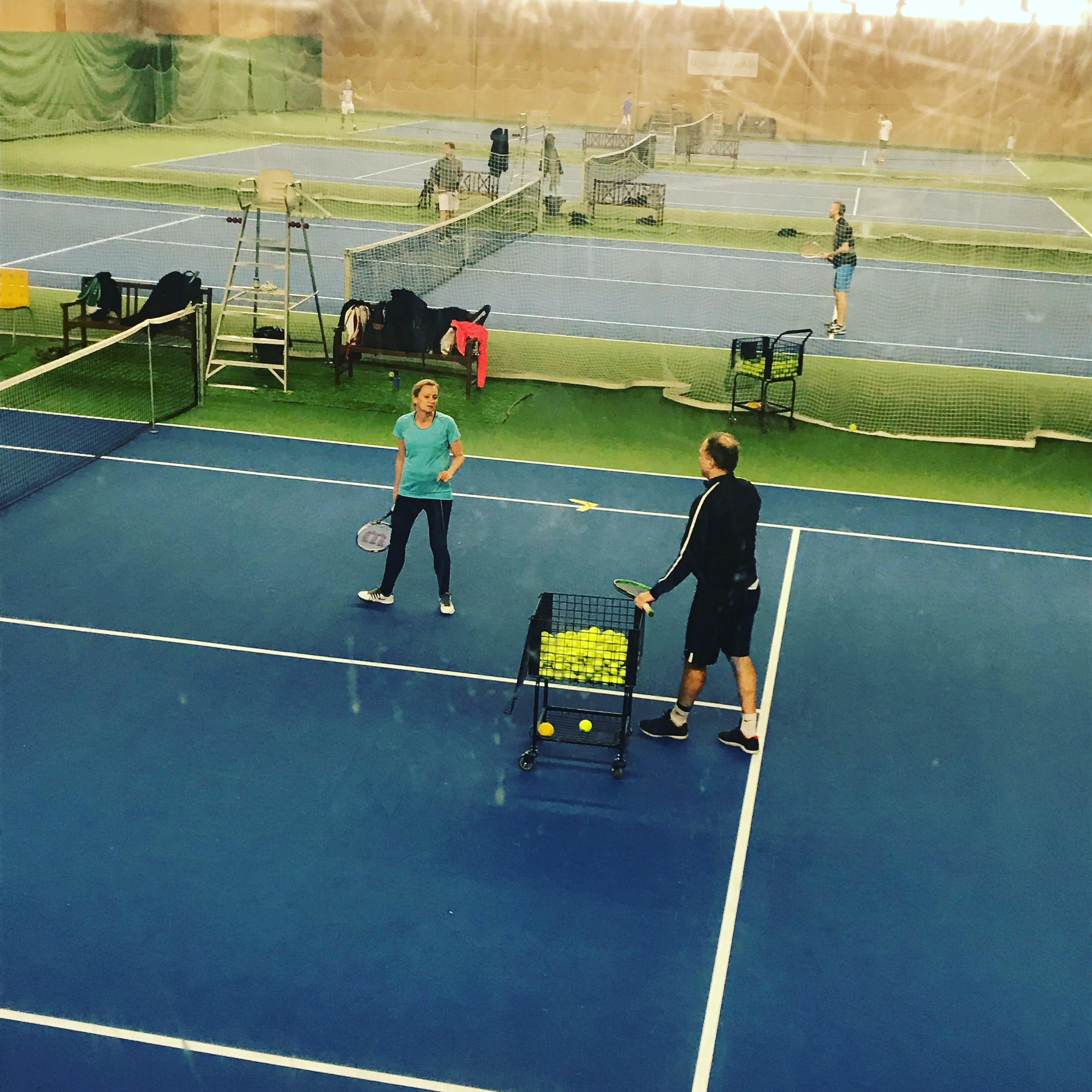 Vuxen träning eddie tennis