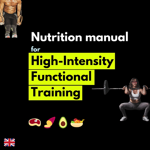 Nutrition guide for High Intensity Functional Training