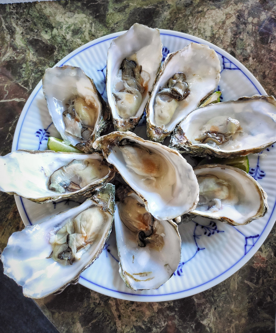 Oysters' friday. Zinc, iodine and testosterone boost