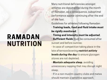 What to eat during Ramadan?