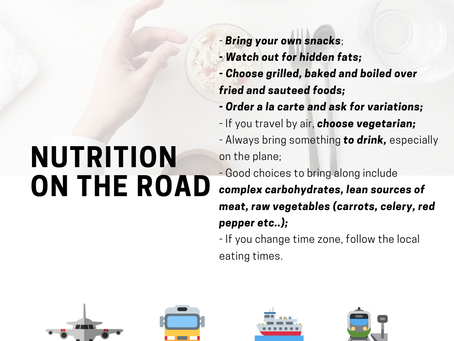 What to eat when travelling as an athlete?