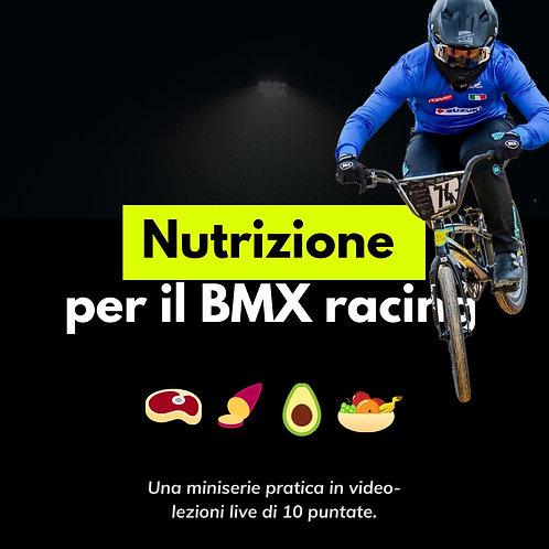 Corso Nutrizione per BMX racing