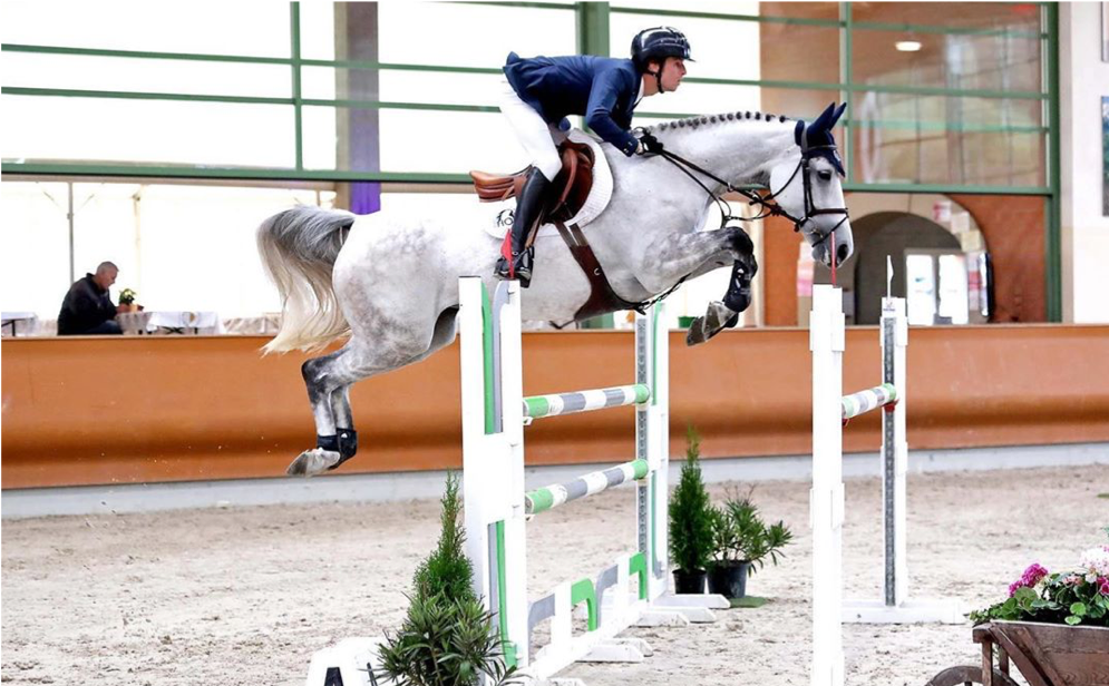 Matias Alvaro in the top 60 worldwide showjumping riders