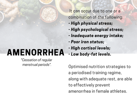What is Amenorrhea? Should you be worried?