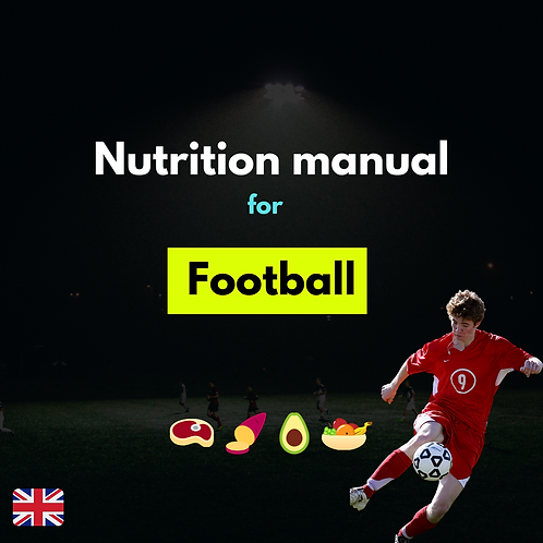 Nutrition manual for Football
