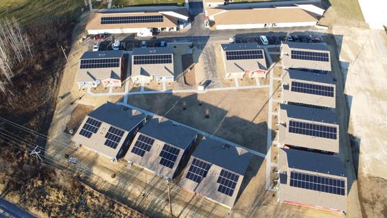 Horicon solar housing