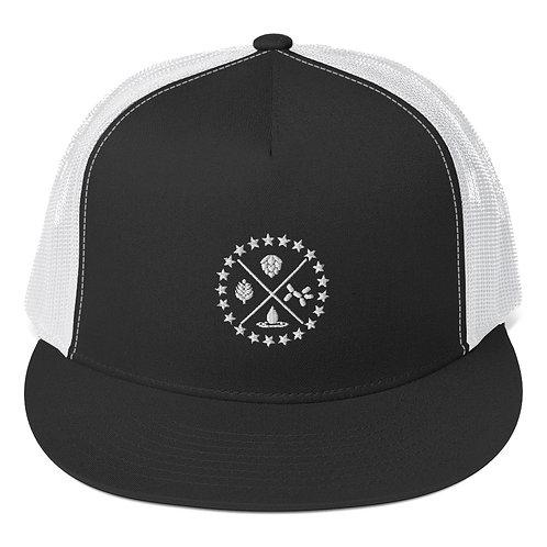Craft Your World Black Trucker Cap