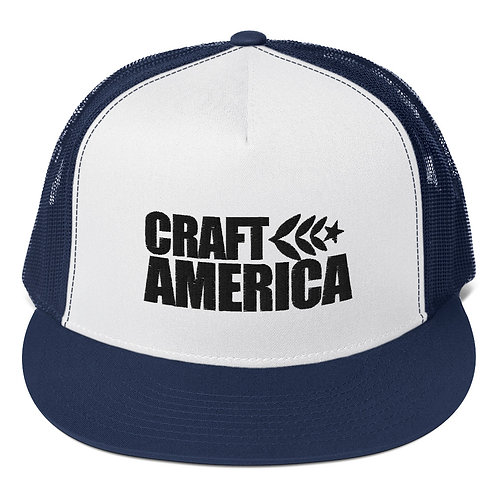 Navy Craft America Trucker Cap