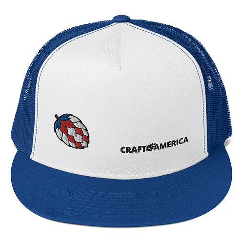 'Merica Hop Blue Trucker Hat