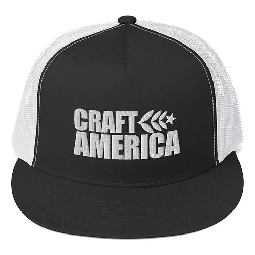 Black Craft America Trucker Cap