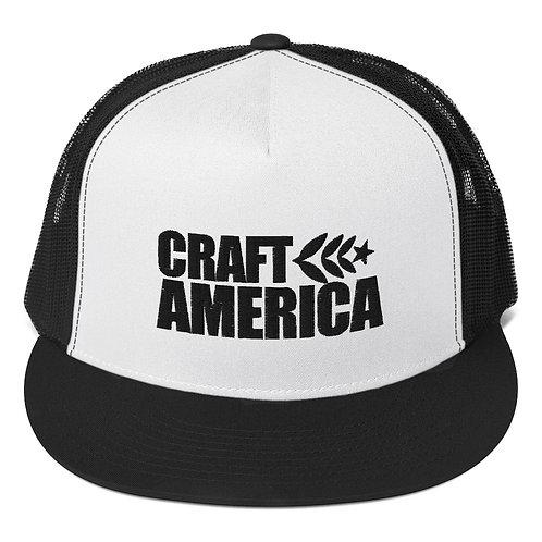 White Craft America Trucker Cap