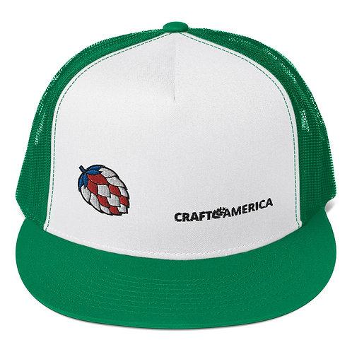 'Merica Hop Green Trucker Hat