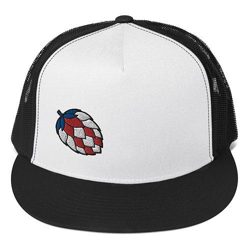 'Merica Hop Black Trucker Hat