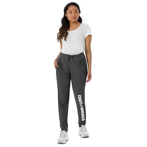 Craft America Gray Unisex Skinny Joggers