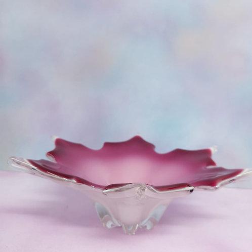 Pink Ombré Flower Dish