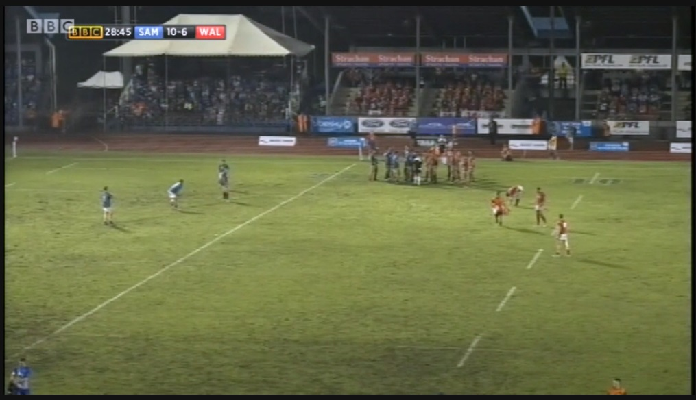 Samoa v Wales (Strachan Sports Travel )