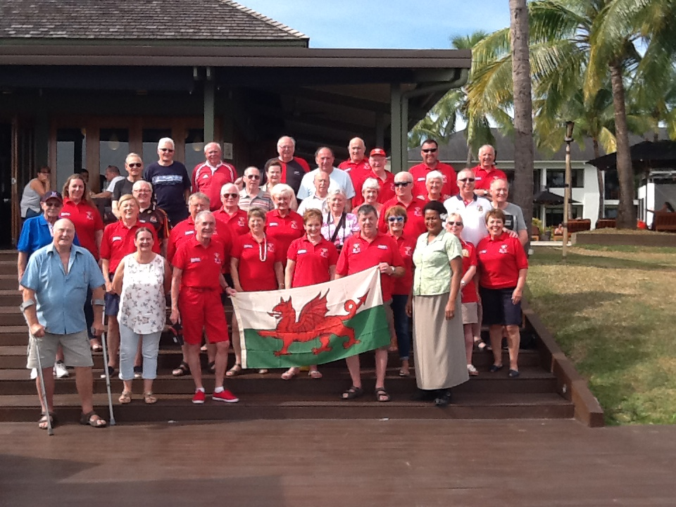 Wales Tour in Fiji 2017