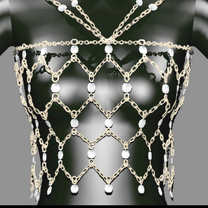 Sims 4 CC Download   'Stay Tonight' Body Chain Accessory