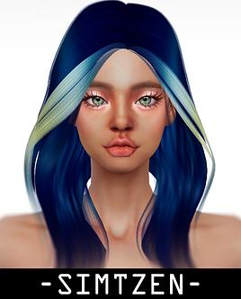 Hair Accessory 04 - Bangs Hair Dye