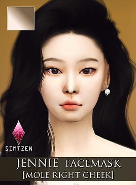 BLACKPINK Jennie Skin Detail Facemask v2