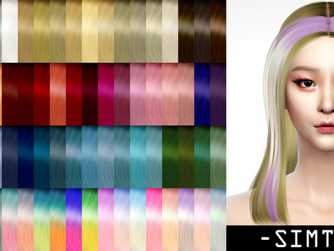 Download Sims 4 CC : Ryujin Hairstyle 014