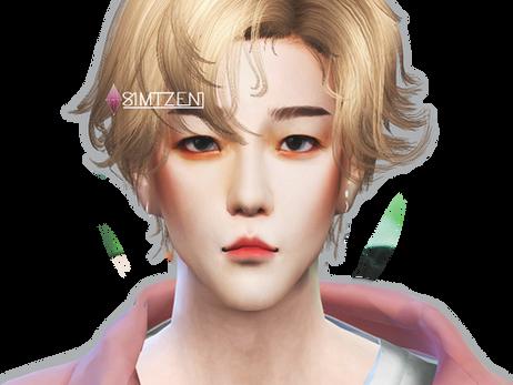 The Sims 4 : Byun Baekhyun EXO | SuperM [CC List]